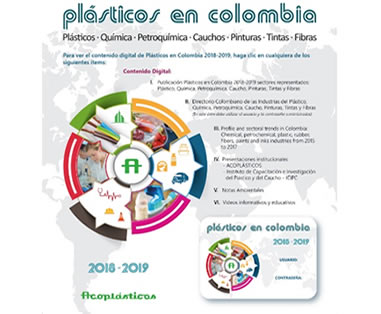 DISPONIBLE EN VERSION DIGITAL PLASTICOS EN COLOMBIA 2018 -2019 - EDITA ACOPLASTICOS