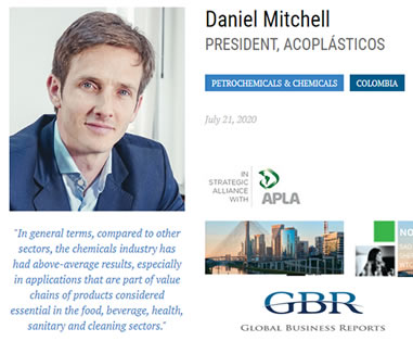 GBR CONNECT SERIES - INTERVIEW WITH DANIEL MITCHELL, ACOPLÁSTICOS - LATIN AMERICA CHEMICALS & PETROCHEMICALS
